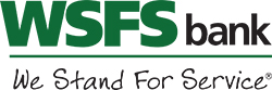 WSFS bank, we stand for service logo