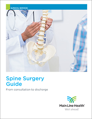 Spine surgery guide cover